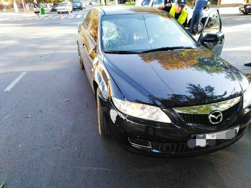 В Измаиле сегодня утром на пешеходном переходе сбили женщину (ВИДЕО, ФОТО)