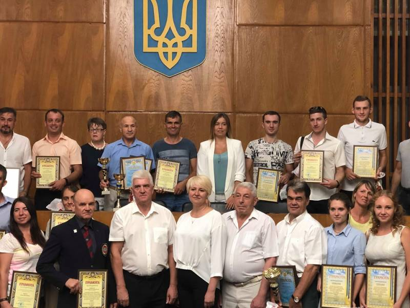В Измаиле чествовали спортсменов в честь Дня физкультуры и спорта (ФОТОРЕПОРТАЖ)