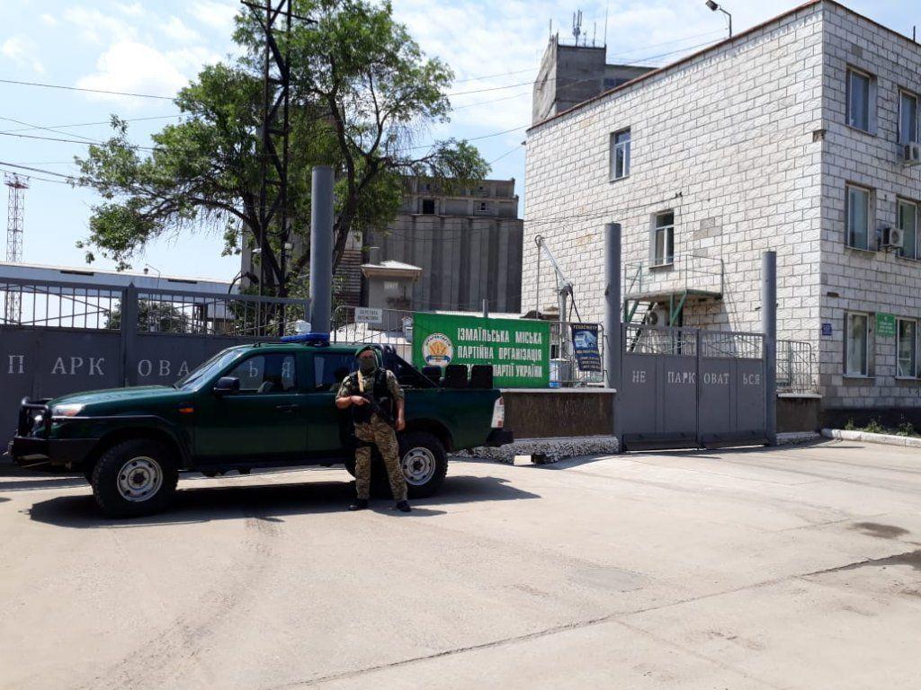 Через Измаил пытались перевезти украденное зерно на 1,2 млн долларов (ФОТО)
